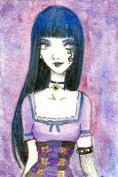 ACEO Goth -Cute-ee W.Ch.- by LaraInPink