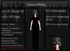 CreepyMelty Bio by KataTheDerp