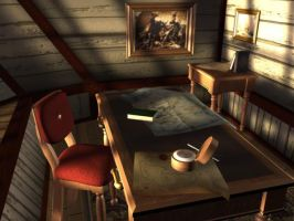 The Captain's Cabin by madmike58