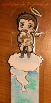 Castiel-bookmark  Hamburglar by Kuchiki-Narla