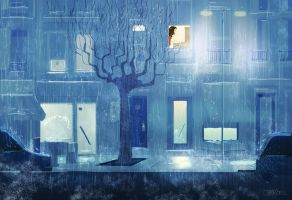 Raining by PascalCampion