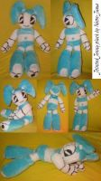 Jointed Jenny plush by Neon-Juma