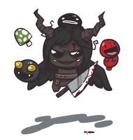 Binding of Isaac fanart by 8acon
