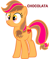 The First Oc ever! Chocolata by cottoncloudyfilly