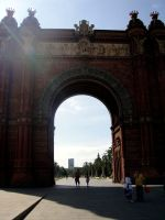 arc de triomf by dannishez