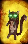 Zombiecat by ThornSpine