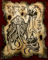 The Lord of Rlyeh by MrZarono