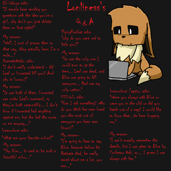 Lonliness's Q and A Page 18 by lonlinessplz