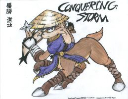 Conquering Storm Request by WMDiscovery93