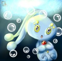 Manaphy by Lillytheeevee