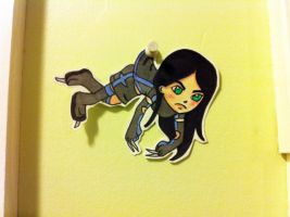X-23 X-Baby Paper doll by TyroneJames