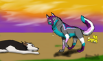 Mr.Bunny goes (for Liagon's Contest) by Jayfeather12331