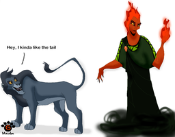 Switched places by Mayshha