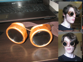 My Steampunk Goggles by callumreality