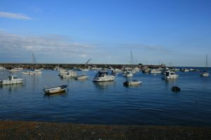 Gorey Harbour, Jersey - view 1 by Anita-Sanderson