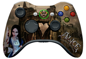 Alice: Madness Returns Controller by DeathDragun