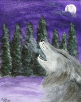 Howling Wolf by IKilledSociety