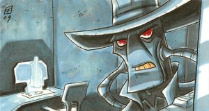 Big Fat Cad Bane by OtisFrampton