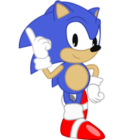 Remastered Classic Sonic by cooleevee759