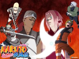 Naruto 453 - Tunder and Fire by futonrasen