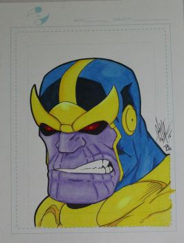 Thanos Colored by SSGJoey