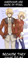 APH - Americans are made of steel by Hetalia-Canada-DJ