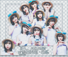 [PACK RENDER #72] 15 PNGS BINNIE - OH MY GIRL by RinYHEnt