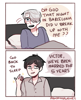 YOI: IT WAS JUST A DREAM VICTOR by Randomsplashes