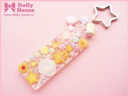 Kawaii keychain Cookies and Sweets by Dolly House by SweetDollyHouse
