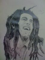 Bob Marley by bellamyribeiro