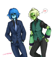 lapidot suits by Cadetheespeon