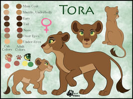 Tora Ref Commish by JessiRenee