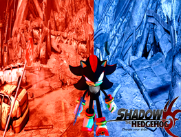 Shadow the Hedgehog Wallpaper by JackyDik