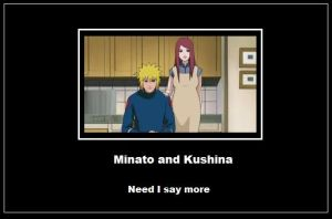 Minato and Kushina by Akumaki
