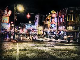 Another Beale Street Saturday Night by rmh7069