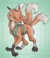 Random fox for Teamwork3 by askerian