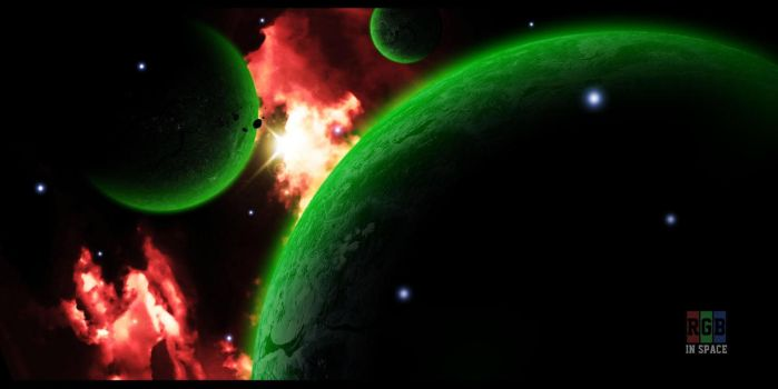 RGB in space by VellGFX