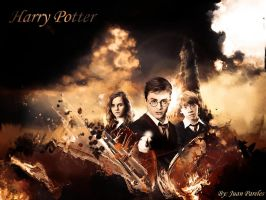 harry potter by juanqui23
