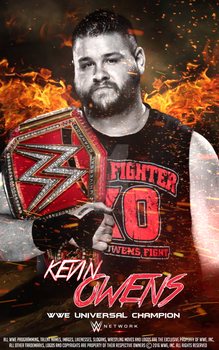 Kevin Owens Poster 2016 by SidCena555