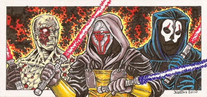 Star Wars: Sith Lords Final by ElfSong-Mat