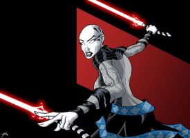 Ventress by lusiphur