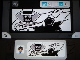 Miiverse - Count Bleck by MAST3RLINKX