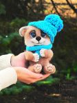 Needle-Felting Bear by LynFamily