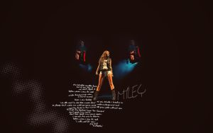 miley cyrus wallpaper 2 by annaliiisa