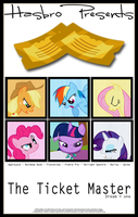 MLP : The Ticket Master - Movie Poster by pims1978