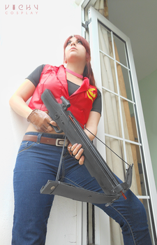 RE Code Veronica X - Claire Redfield cosplay by VickyxRedfield