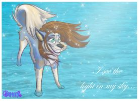 I see the light in my sky_.+ by ThechnoHusky92
