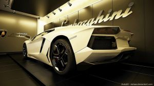 Lamborghini Aventador LP 700 - 4  showroom by DutaAV
