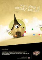 who's affraid of candy balls? by Bredy75