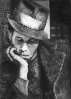 Tom Waits by marielleroyseth